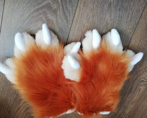 Ausi Fursuit Paws