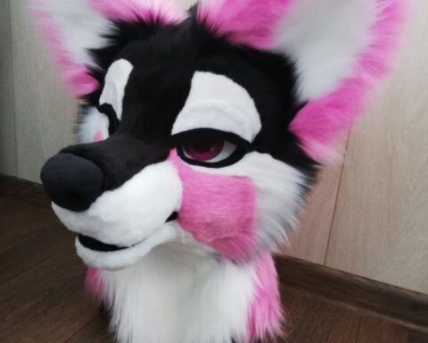 Fursuit Naughty puppy head