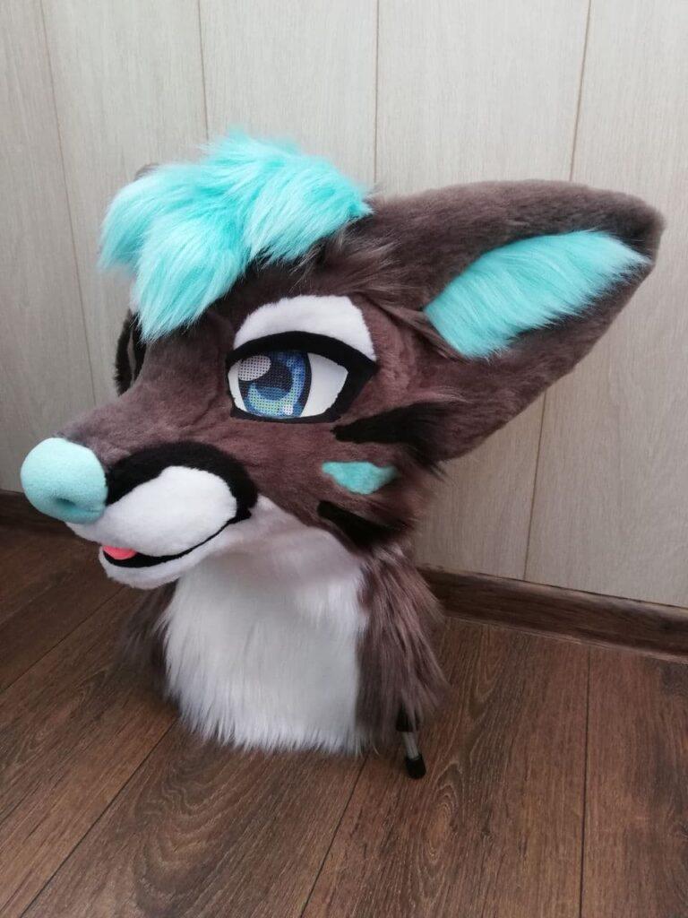 Mr. FOX Fursuit Head