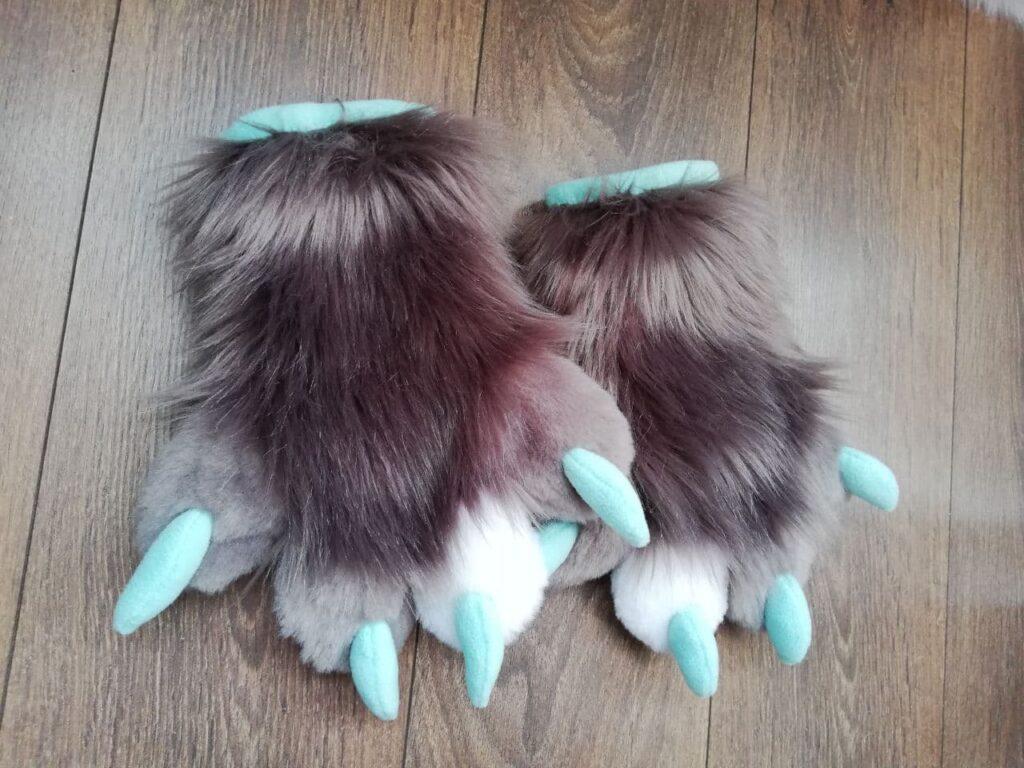 Mr. FOX Fursuit Paws