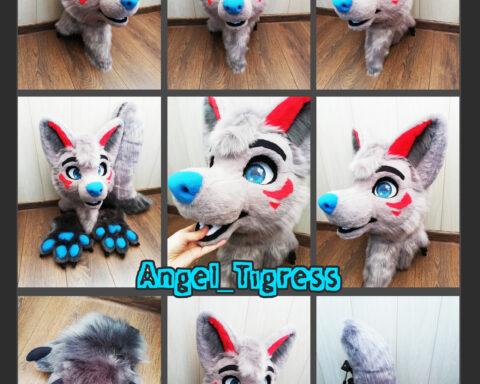 Gray Wolf Fursuit