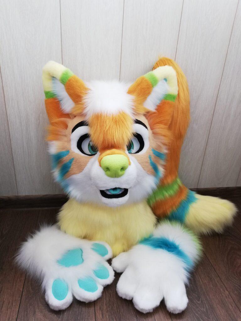 Ginger Dog Partial Fursuit